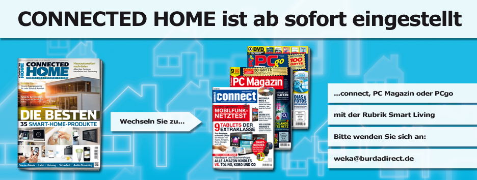 Einstellung Connected Home