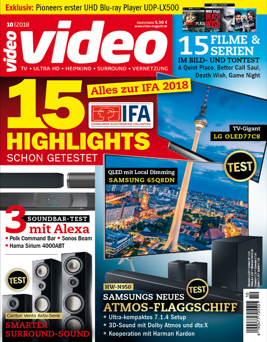 Video Ausgabe: 10/2018